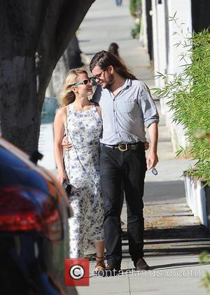 Dianna Agron , Winston Marshall - Dianna Agron and her boyfriend Winston Marshall of Mumford & Sons spotted at Gratitude...