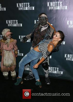 Karina Smirnoff - Knott's Scary Farm Black Carpet at Knott's Berry Farm - Buena Park, California, United States - Friday...
