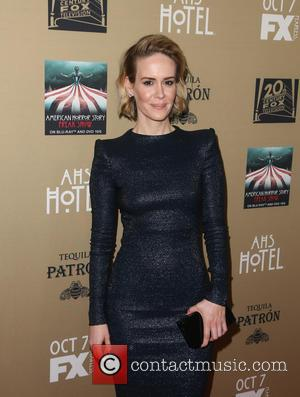 Sarah Paulson - Premiere screening of FX's 'American Horror Story: Hotel' at Regal Cinemas L.A. Live - Arrivals at Regal...