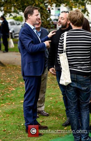 Nick Clegg - Cheltenham Literature Festival - Day 2 at Cheltenham - Cheltenham, United Kingdom - Saturday 3rd October 2015