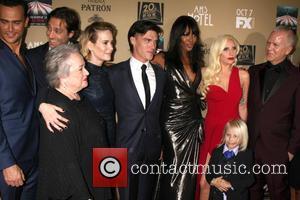 Kathy Bates, Sarah Paulson, Finn Wittrock, Naomi Campbell, Lady Gaga and Ryan Murphy