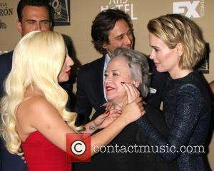 Lady Gaga, Kathy Bates , Sarah Paulson - Premiere screening of FX's 'American Horror Story: Hotel' at Regal Cinemas L.A....