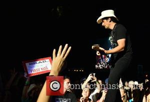 Brad Paisley - Brad Paisley performs live in concert at Perfect Vodka Amphitheatre with support from Mickey Guyton at Perfect...