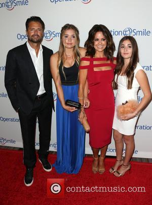 David Charvet, Sierra Fisher, Brooke Burke-Charvet and Neriah Fisher