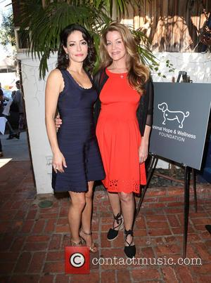 Emmanuelle Vaugier and Claudia Christian