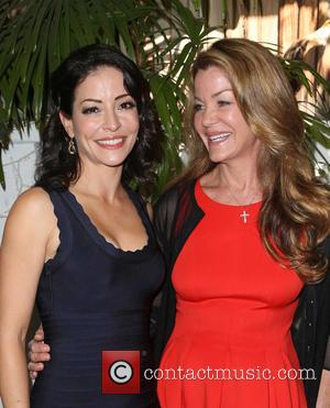 Emmanuelle Vaugier , Claudia Christian - 2015 'The Fluffball' Fundraiser hosted by Emmanuelle Vaugier at The Little Door at The...