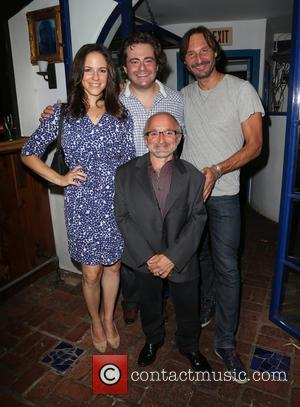 Rick Howland, Anna Silk, Seth Cooperman , Nicolas Meschin - 2015 'The Fluffball' Fundraiser hosted by Emmanuelle Vaugier at The...