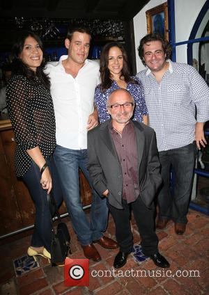Ivan Sergei, Anna Silk, Seth Cooperman , Rick Howland - 2015 'The Fluffball' Fundraiser hosted by Emmanuelle Vaugier at The...
