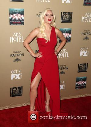 Lady Gaga - Premiere screening of FX's 'American Horror Story: Hotel' at Regal Cinemas L.A. Live - Arrivals at Regal...