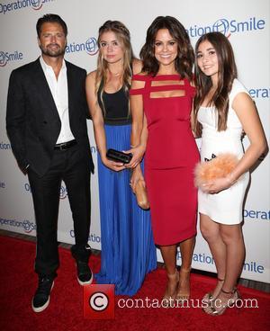 David Charvet, Neriah Fisher, Brooke Burke-Charvet , Heaven Rain Charvet - 2015 Operation Smile Gala at the Beverly Wilshire Hotel...