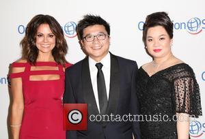 Brooke Burke-Charvet, Henry Nguyen , Phuong Nguyen - 2015 Operation Smile Gala at the Beverly Wilshire Hotel - Arrivals at...
