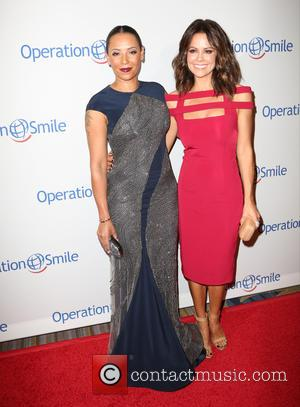 Mel B , Brooke Burke-Charvet - 2015 Operation Smile Gala at the Beverly Wilshire Hotel - Arrivals at Beverly Wilshire...