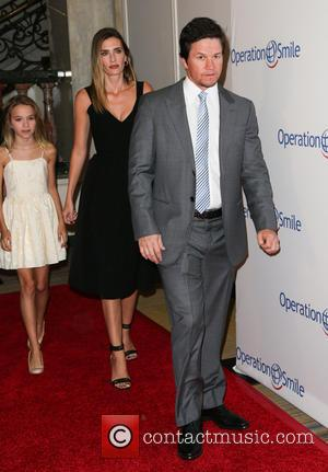 Mark Wahlberg, Rhea Durham and Ella Wahlberg