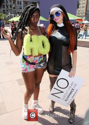 Phoebe Price - Phoebe Price attends The Amber Rose SlutWalk dressed as a nun in Pershing Square at Pershing Square...