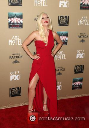 Lady Gaga Leads The Cast At 'American Horror Story: Hotel' Premiere