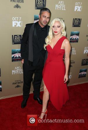 Taylor Kinney and Lady Gaga