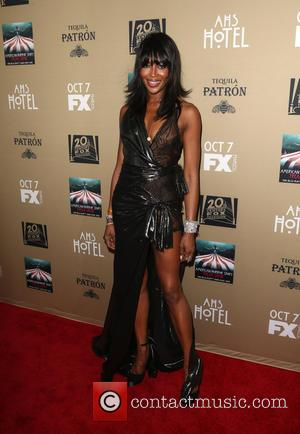 Naomi Campbell - Premiere screening of FX's 'American Horror Story: Hotel' at Regal Cinemas L.A. Live - Arrivals at Regal...