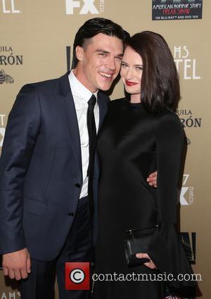 Finn Wittrock and Sarah Roberts