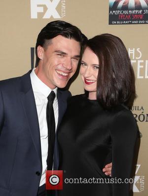 Finn Wittrock , Sarah Roberts - Premiere screening of FX's 'American Horror Story: Hotel' at Regal Cinemas L.A. Live -...