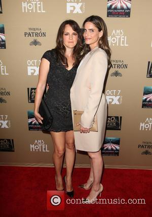 Amanda Peet , Guest - Premiere screening of FX's 'American Horror Story: Hotel' at Regal Cinemas L.A. Live - Arrivals...