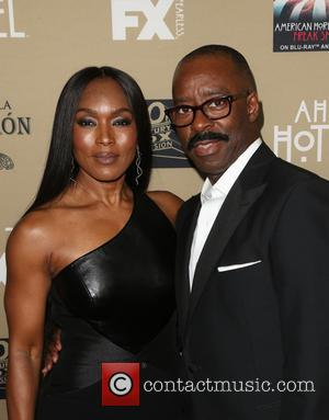 Angela Bassett , Courtney B. Vance - Premiere screening of FX's 'American Horror Story: Hotel' at Regal Cinemas L.A. Live...