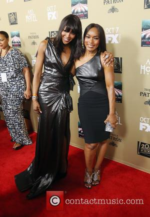 Naomi Campbell , Angela Bassett - Premiere screening of FX's 'American Horror Story: Hotel' at Regal Cinemas L.A. Live -...