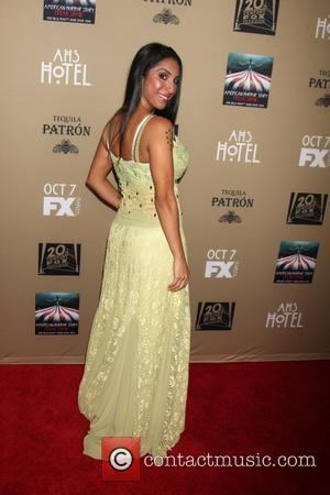 Liana Mendoza - Premiere screening of FX's 'American Horror Story: Hotel' at Regal Cinemas L.A. Live - Arrivals at Regal...
