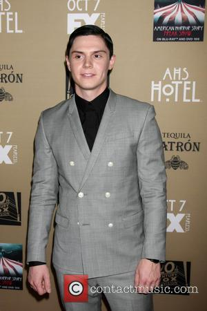 Evan Peters - Premiere screening of FX's 'American Horror Story: Hotel' at Regal Cinemas L.A. Live - Arrivals at Regal...