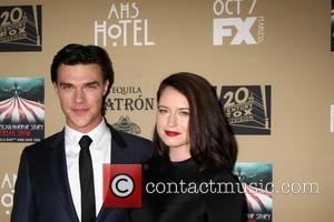Finn Wittrock , Sarah Roberts - Premiere screening of FX's 'American Horror Story: Hotel' at Regal Cinemas L.A. Live -...