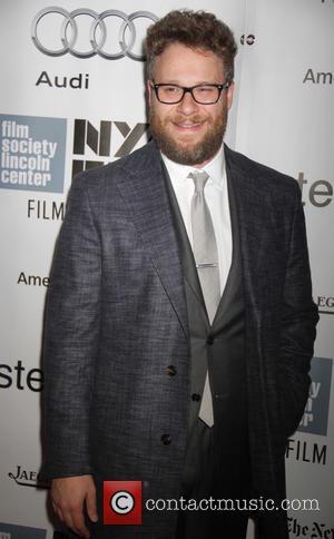 Seth Rogen - 53rd New York Film Festival - 'Steve Jobs' - Premiere  - Red Carpet Arrivals at Alice...