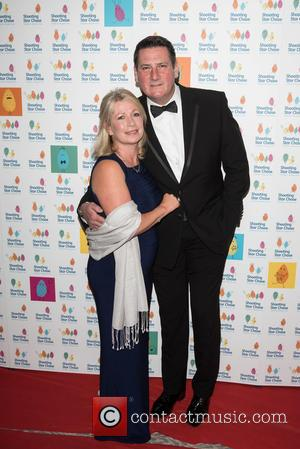 Tony Hadley , Alison Evers - The Shooting Star Chase Ball held at the Dorchester - Arrivals - London, United...