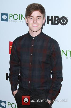 Connor Franta - Point Foundation's Voices On Point Gala held at the Hyatt Regency Century Plaza Hotel - Arrivals at...