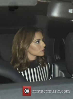 Cheryl Fernandez-Versini - Nicola Roberts arriving at Chantell Hotel - LONDON, United Kingdom - Sunday 4th October 2015