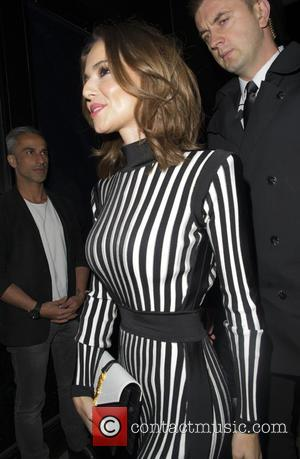 cheryl fernandez versini - Nicola Roberts Celebrates her 30th birthday with friends at hotel chantelle london - London, United Kingdom...