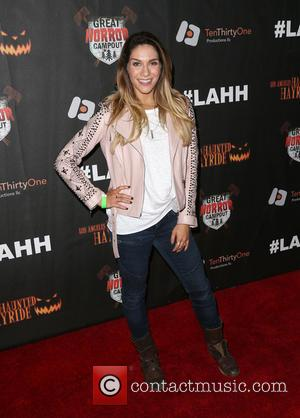 Allison Holker - Los Angeles Haunted Hayride 2015 Black Carpet Premiere Night - Arrivals at Griffith Park - Los Angeles,...