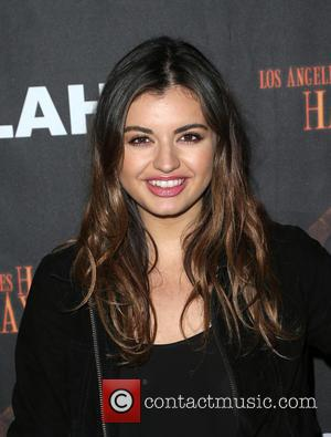 Rebecca Black - Los Angeles Haunted Hayride 2015 Black Carpet Premiere Night - Arrivals at Griffith Park - Los Angeles,...
