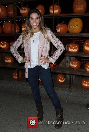 Allison Holker - Los Angeles Haunted Hayride Black Carpet at Griffith Park - Arrivals - Los Angeles, California, United States...