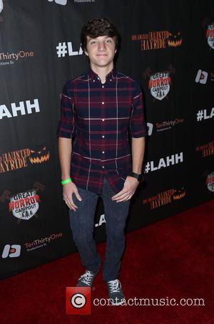 Jake Short - Los Angeles Haunted Hayride Black Carpet at Griffith Park - Arrivals - Los Angeles, California, United States...