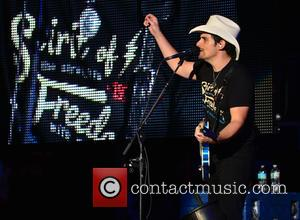 Brad Paisley - Brad Paisley performs live in concert at Perfect Vodka Amphitheatre with support from Mickey Guyton and Justin...