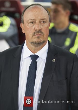 Rafael Benitez - Real Madrid vs. Club Atletico at Vicente Calderon Stadium - Madrid, Spain - Sunday 4th October 2015