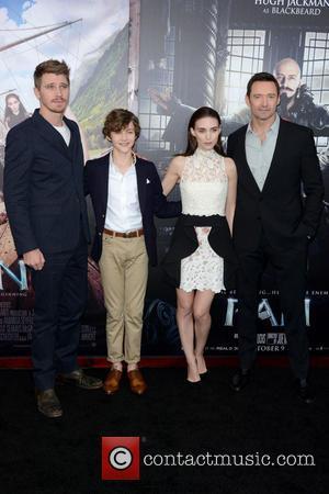 Garrett Hedlund, Levi Miller, Rooney Mara , Hugh Jackman - New York premiere of 'Pan' - Arrivals - Manhattan, New...