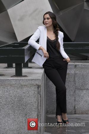 Celia Freijeiro - Spanish actress Celia Freijeiro attends 'La Playa de los Ahogados' photocall at Princesa Cinema on October 5,...