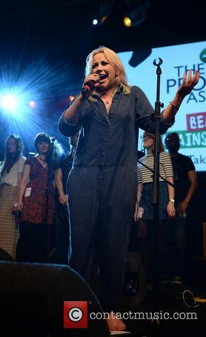 Charlotte Church - Charlotte Church performs in a boiler suit bare footed at Manchester Academy as part of Beat Back!...