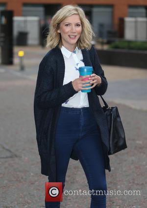 Lisa Faulkner - Lisa Falkner outside ITV Studios - London, United Kingdom - Monday 5th October 2015