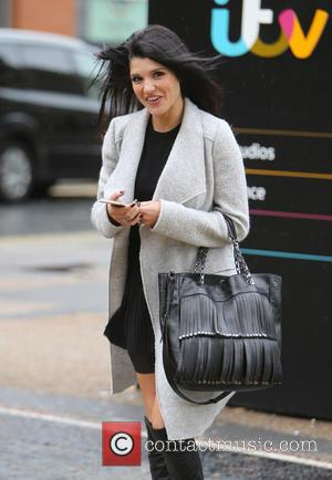Natalie Anderson - Natalie Anderson outside ITV Studios - London, United Kingdom - Monday 5th October 2015