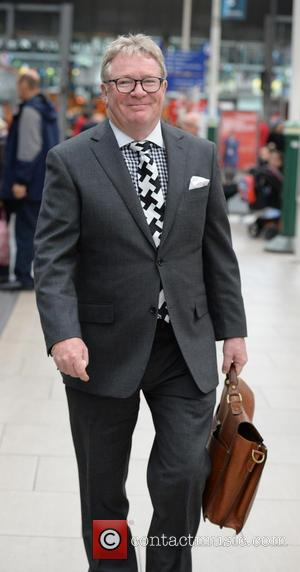 Jim Davidson - Jim Davidson spotted at Manchester Piccadilly Train Station. Jim appeared to show the wrong ticket after a...