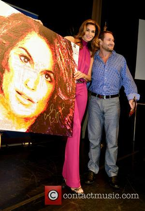Cindy Crawford , Havi Schanz - Cindy Crawford attends the Miami Book Fair to discuss her book 'Becoming' with NBC's...