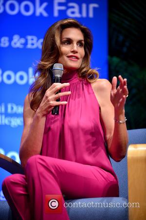 Cindy Crawford - Cindy Crawford attends the Miami Book Fair to discuss her book 'Becoming' with NBC's Jackie Nespral at...