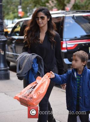 Camila Alves , Levi Alves McConaughey - Matthew McConaughey and wife Camila Alves out with their two children, Levi and...