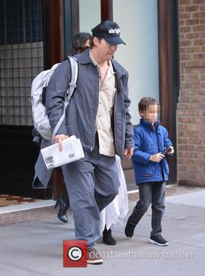 Matthew McConaughey , Levi Alves McConaughey - Matthew McConaughey and wife Camila Alves out with their two children, Levi and...